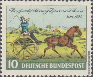 160 Thurn und Taxis Stamp Centenary