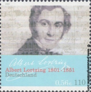 2163 200th Birthday of Albert Lortzing
