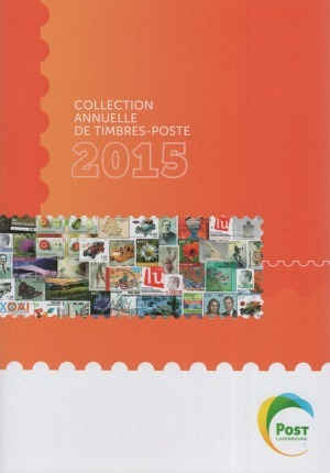 Luxembourg Yearbook Annual Collection 2015 mnh