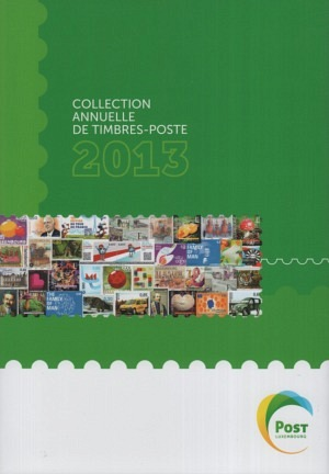 Luxembourg Yearbook Annual Collection 2014 mnh