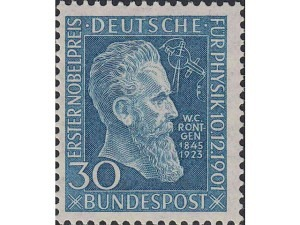 147 50th Anniversary of Award to Wilhelm Rontgen of 1st Nobel Prize for Physics