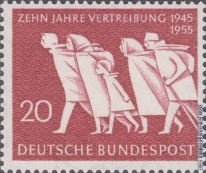 215 Expulsion of Germans from beyond the Oder-Neisse Line, 10th Anniversary