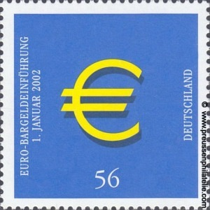 2234 Introduction of Euro Coins and Banknotes
