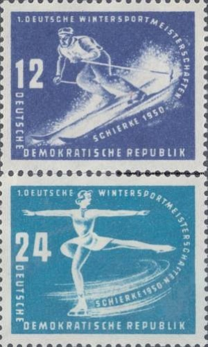 246-247 First Winter Sports Championships of the GDR, Schierke