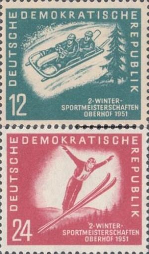 280-281 Winter Sports Championships of the GDR, Oberhof
