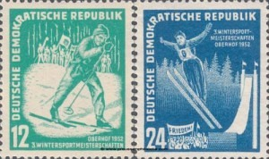 298-299 Winter Sports Championships of the GDR, Oberhof