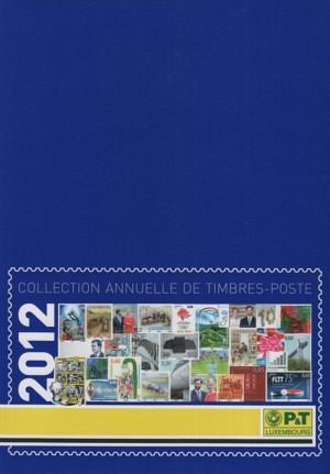 Luxembourg Yearbook Annual Collection 2012 mnh