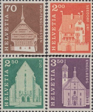 862-865 Postal History Motifs and Monuments